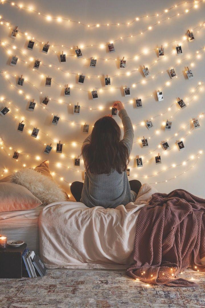 Best 25+ String lights bedroom ideas on Pinterest | String lights ...